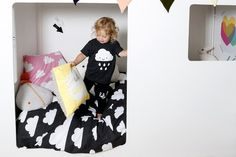 Sammuel and Dixie's New Room - Part The House Bed – This Modern Life White Kids Room, Piece A Vivre, House Beds, New Room, Girl Room, Toddler Bed, Wall Decor, Nursery, Blog