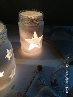 Riciclo Creativo: barattoli decorati per Natale