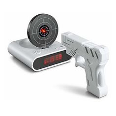 Laser Gun mål skydning digitalt vækkeur (4xAA) - DKK kr. 193