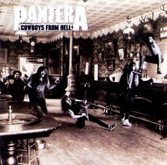 pantera | Metal is Forever: Revision de PANTERA COWBOYS FROM HELL