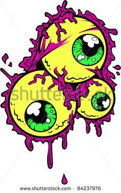 Vector Tattoo Eyeball