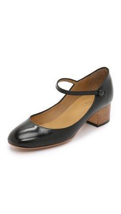A.P.C. Jasmine Mary Jane Shoes