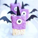 The cutest little Purple People Eaters EVER by @mydisorganizedlife
