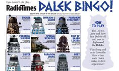 Doctor Who - get ready to play Dalek Bingo! | Radio Times