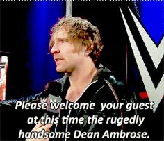 "Owens comes in "" First off your annoying Renee"" - Owens ""Thats not true"" -Ambrose ""Yea it is"" -Owens"