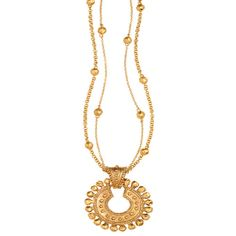 Persian Imperial Pendant Necklace
