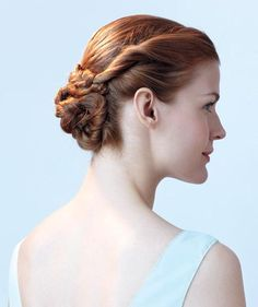 Flower Bun | Braids are a wish come true for long and short cuts alike. Try one of these easy grown-up twists.