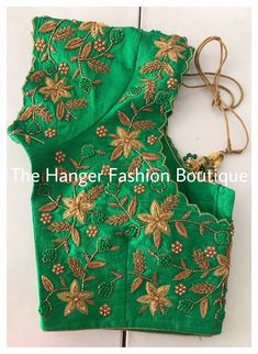 Blouse Designs High Neck, Cutwork Blouse Designs, Kids Blouse Designs, Wedding Saree Blouse Designs, Churidhar Designs, New Embroidery Designs, Zardosi Work, Kerala Bride, Maggam Work Designs