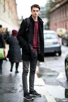 50 x Mannelijke modellen buiten de runway tijdens de Milan Men's Fashion Week | NSMBL.nl