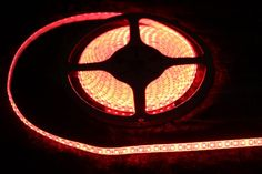 Strip Lighting LED Red SMD3528 IP65 5 metre Roll 9.6w/m 120 LED/m A$30.80 www.ecoindustrialsupplies.com