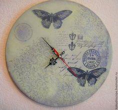 Часы для дома ручной работы. Ярмарка Мастеров - ручная работа Часы-панно. Handmade.