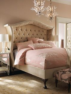 Bedroom Photos Pink Design, Pictures, Remodel, Decor and Ideas - page 6