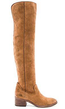 Dolce Vita Kitt Boot in Dark Saddle | REVOLVE