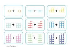 Numicon style doubles + number sentences A 3 page PDF which has both numicon style images as well as number sentences showing to A quick print Numicon Activities, Fun Activities For Kids, Numeracy, Free Teaching Resources, Teacher Resources, Doubling And Halving, Eyfs Curriculum, Double Numbers, Math Doubles