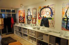 Poul Pava shop Entryway, Painting, Furniture, Shopping, Home Decor, Kunst, Entrance, Decoration Home, Room Decor
