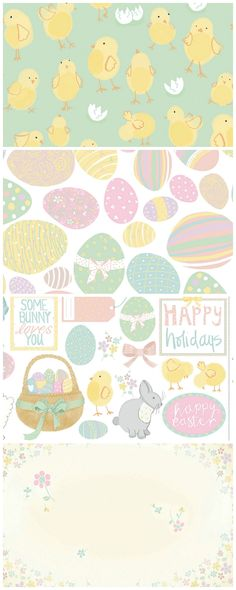 Get crafty for Easter with Naomi Skinner's free printable papers to download from the Papercraft Inspirations website.