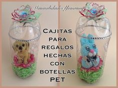 CAJITAS CILINDRICAS PARA REGALO HECHAS CON BOTELLAS PET - YouTube
