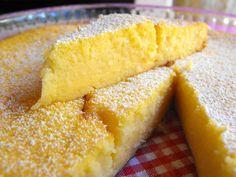 As receitas lá de casa: Tarte de limão com coco
