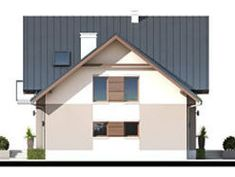 DOM.PL™ - Projekt domu ZA Dom w Teksasie CE - DOM ZA1-51 - gotowy koszt budowy Shed, Outdoor Structures, House, Home, Homes, Barns, Sheds, Houses
