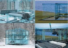 YOU CAN NOW HAVE YOUR OWN GLASS HOUSE:    But it wouldn't make a Good Safehouse I don't believe and if you in the Witness Protection Program...it might not be a good look...:)