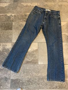 Waist across unstretched rise inseam along with size, for use as a general guide. Blue Denim, Blue Jeans, Levis 527, Loose Fit Jeans, Low Boots, Hosiery, Bell Bottom Jeans, Best Deals, Link