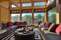 Tsubaki blends Japanese design with western luxury and alpine architecture.