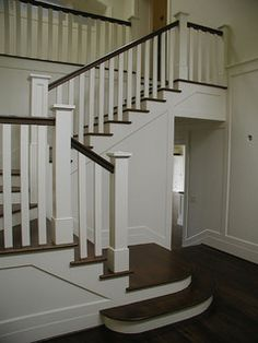 Staircase Idea - squared off details