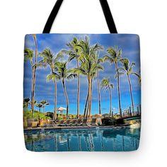 Poolside Tote Bag by Pamela Walton