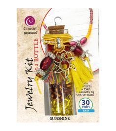 Jewelry Kit In A Bottle-Sunshine