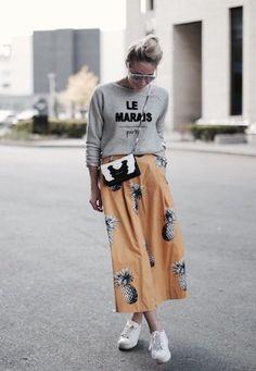 A Skirt That Screams, Summer!