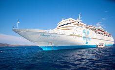 Navio Celestial Olymbia cruzeiro pela Grécia