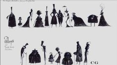 """Edward Hudson Animation Year 2 - Term 2: Research - Character Designs of """"Tim Burton's Corpse Bride"""""""
