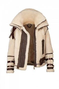 Selectism - Burberry Prorsum Shearling Coats for Autumn/Winter 2010 Mens Shearling Jacket, Shearling Coat, Burberry Prorsum, Winter Outfits, Cool Outfits, Girly Outfits, Beautiful Outfits, Peau Lainee, Aviator Jackets