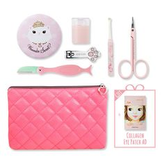 [SET][Etude House] Beauty Tools & Pink Pouch (+Eye Patch Gift)