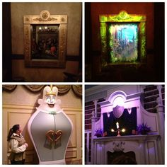 The new Enchanted Tales with Belle attraction at Magic Kingdom...part of the New Fantasyland at Disney World.