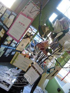 Wedding Invitation Display Tree
