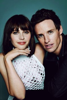 Eddie Redmayne and Felicity Jones                                                                                                                                                     More