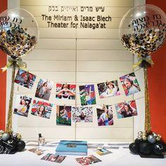 Designed by Ruti - Gabrielas gorgeous bat mitzvah Confetti Balloons, Bar Mitzvah, Balloon Decorations, Photo Wall, Frame, Design, Home Decor, Sheet Metal, Picture Frame