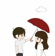 Art Love Couple, Love Cartoon Couple, Boy And Girl Cartoon, Cute Couple Drawings, Girly Drawings, Anime Love Couple, Cute Anime Couples, Cute Love Images, Cute Love Gif