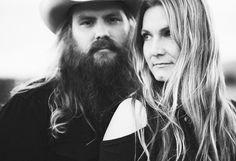 Chris Stapleton and wife Morgane