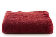I want to curl up in this mohair blanket and sleep for a week.