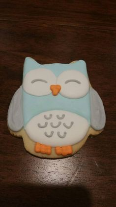 Owl cookies by Ladybugcakesdotcom on Etsy