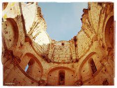 Monasterio de Arlanza (ruinas), Hortigüela, provincia de Burgos, España, Spain.