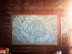 APRIL 2014 Chalk Installation - Katey Dutton