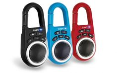 Clipster - portable bluetooth speaker
