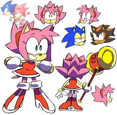 """hey sega give amy this haircut"" Sonic The Hedgehog, Shadow The Hedgehog, Shadamy Comics, Sonamy Comic, Shadow And Amy, Sonic Franchise, Sonic And Amy, Sonic And Shadow, Sonic Fan Art"
