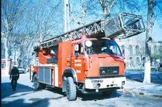 Fire Apparatus, Transporter, Fire Trucks, Transportation, Rigs, Vehicles, Trailers, Europe, Vintage