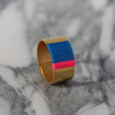 Bague simone - Lama Demoiselle - Made in France