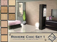 Devirose's Rovere Chic Set1 set