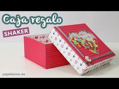 Cajas de regalo shaker (con plantillas y medidas) - PAPELISIMO